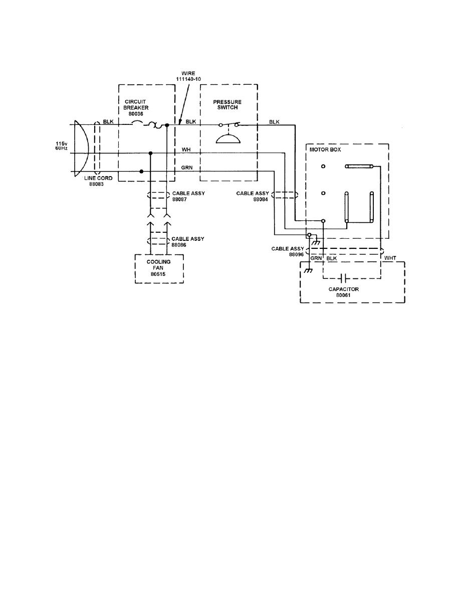 figure 4-3  compressor wiring diagram