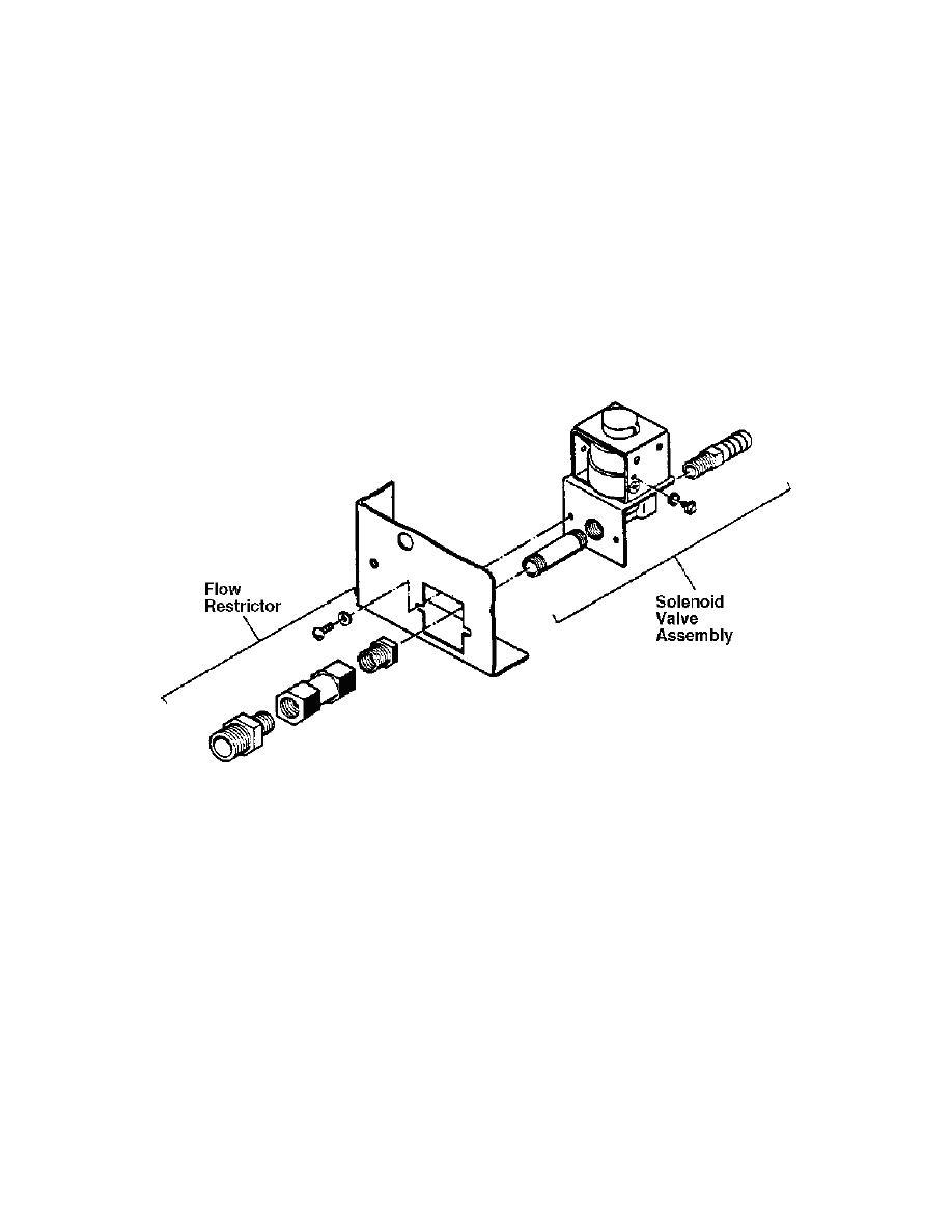figure 1 11 water solenoid and flow restrictor exploded. Black Bedroom Furniture Sets. Home Design Ideas